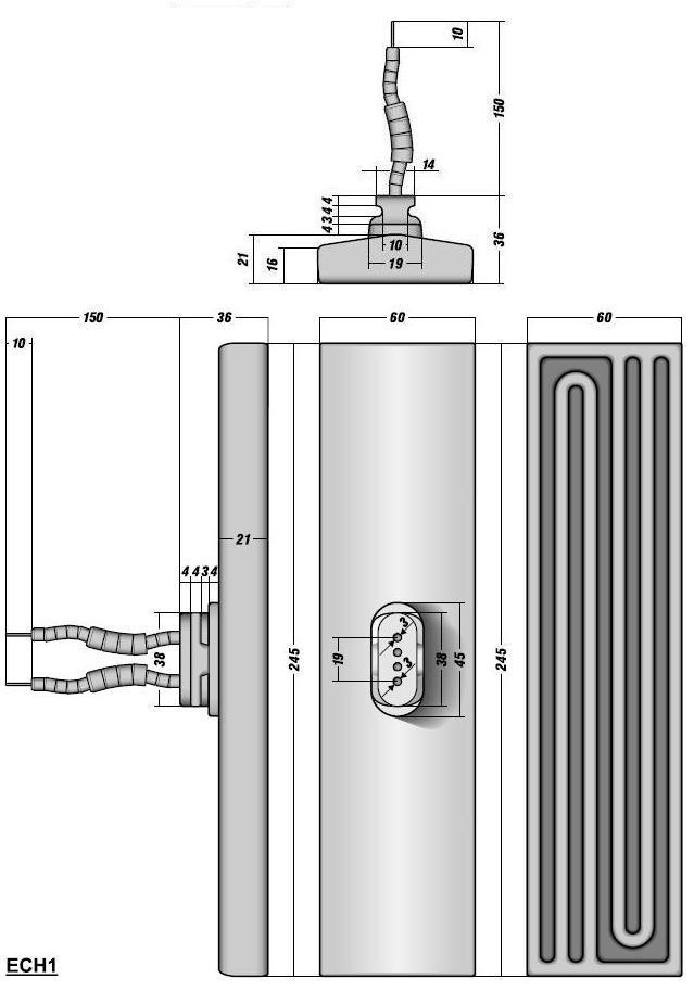 Схема монтажа инфракрасных