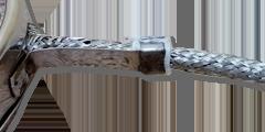 Тип подключения нагревателей 2. Термостойкий провод  в защитной металлической оплетке