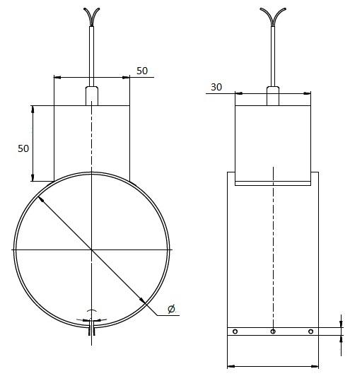 Тип подключения 6. Термостойкая керамическая колодка в металлическом кожухе