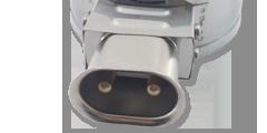Тип подключения 8. Токовывод сетевой двухконтактный термостойкий разъем WG-2 (РПС).