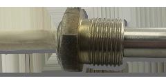 Тип подключения 6. Соединение в виде резьбового фланца для монтажа с помощью резьбы