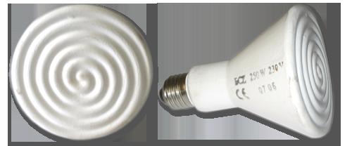 керамические инфракрасные лампы для курятника
