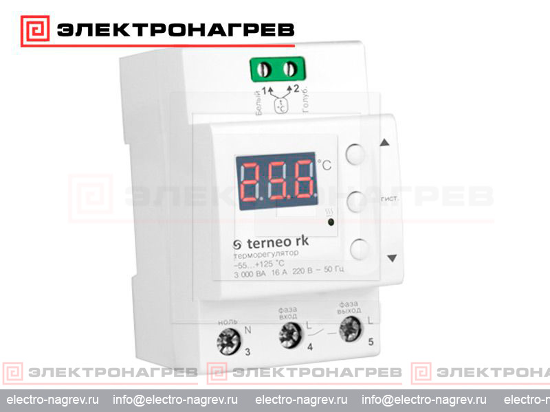 Терморегулятор terneo rk с