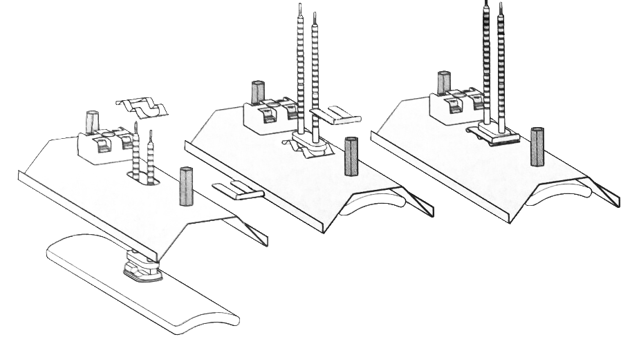 Схема монтажа керамического излучателя ECS