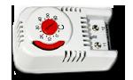 Терморегулятор (термостат)  для обогревателей шкафов автоматики
